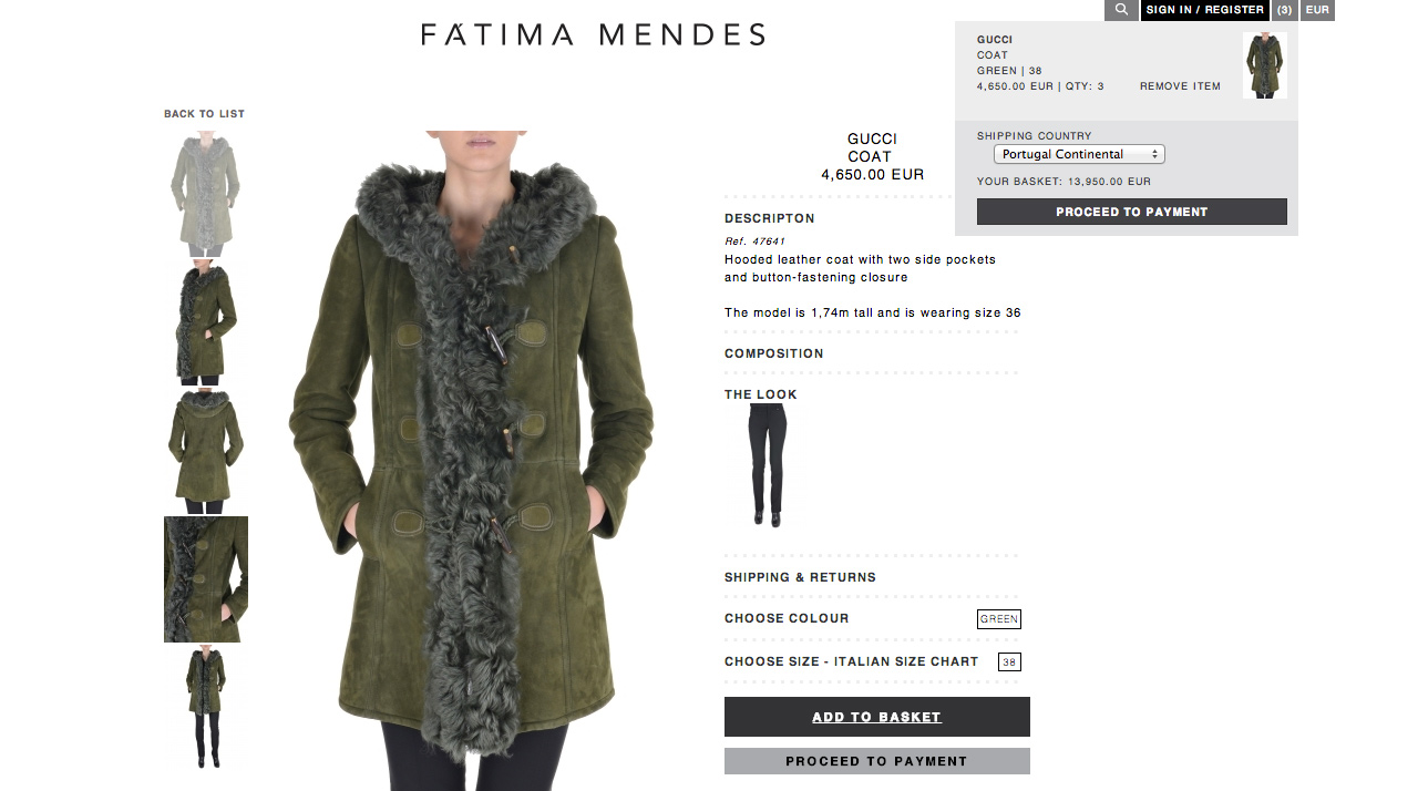 Fatima Mendes PRODUCT
