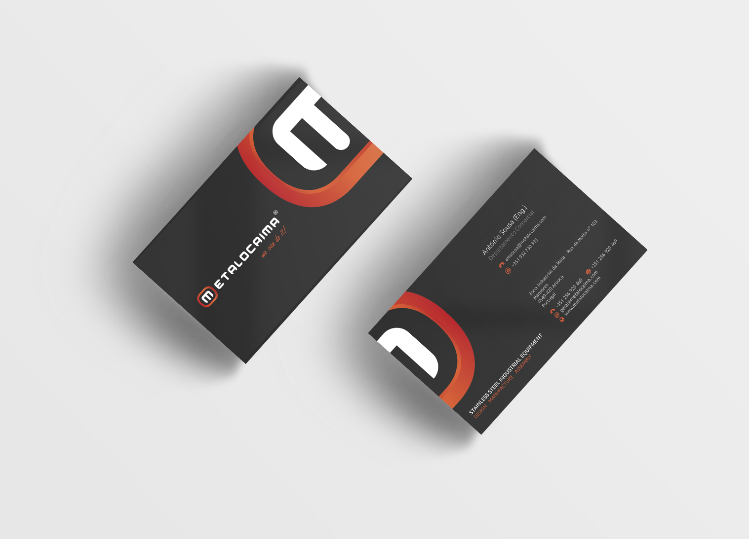 metalocaima business card