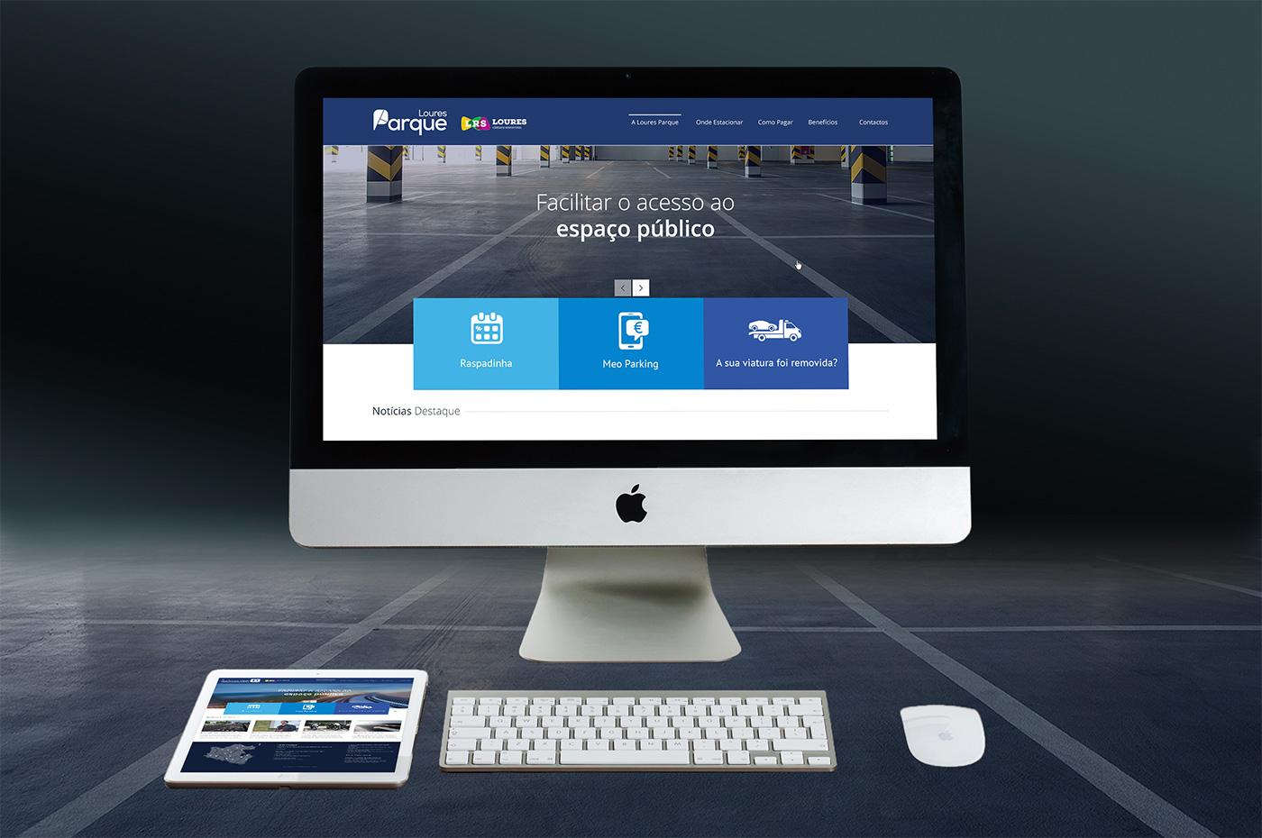 LouresParque website
