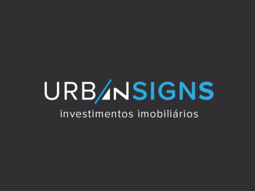 UrbanSigns logo design